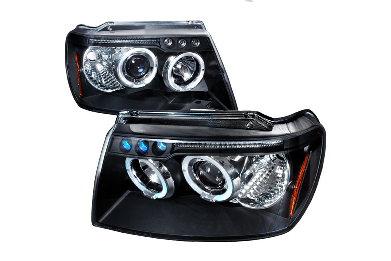 2002 Jeep Grand Cherokee Aftermarket Headlights