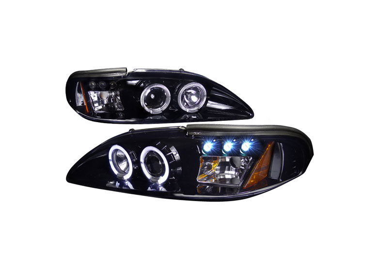 1997 Ford Mustang Aftermarket Headlights