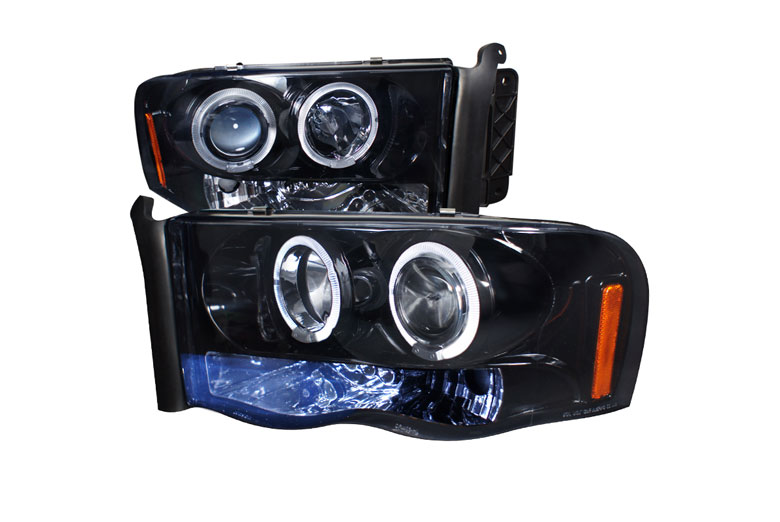 2003 Dodge Ram Aftermarket Headlights