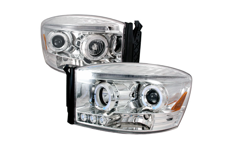 2008 Dodge Ram Aftermarket Headlights
