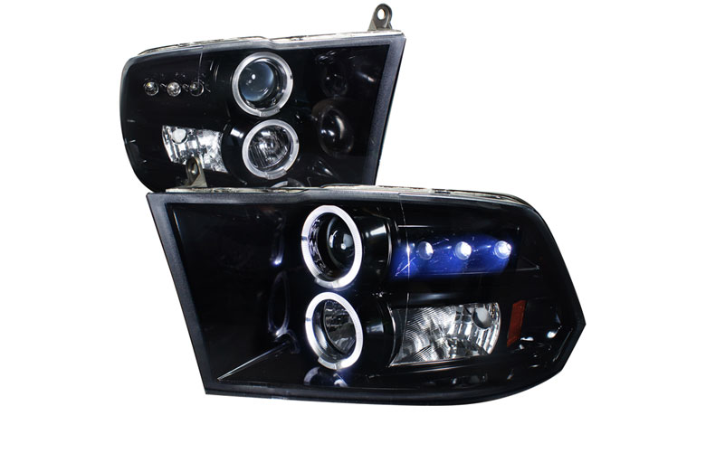 2012 Dodge Ram Aftermarket Headlights