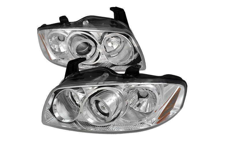 2006 Nissan Sentra Aftermarket Headlights
