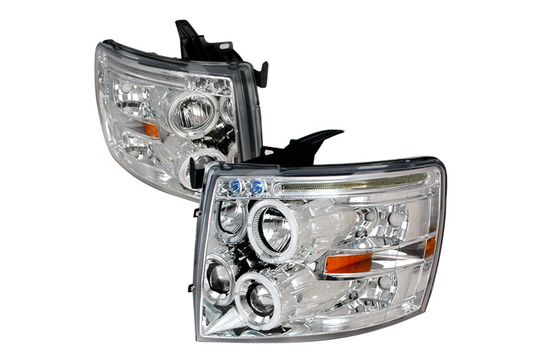 2010 Chevrolet Silverado Aftermarket Headlights
