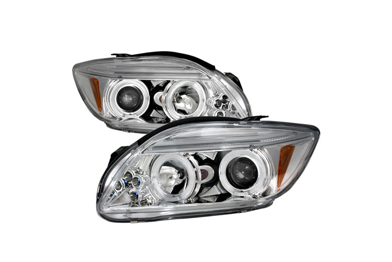 2008 Scion tC Aftermarket Headlights