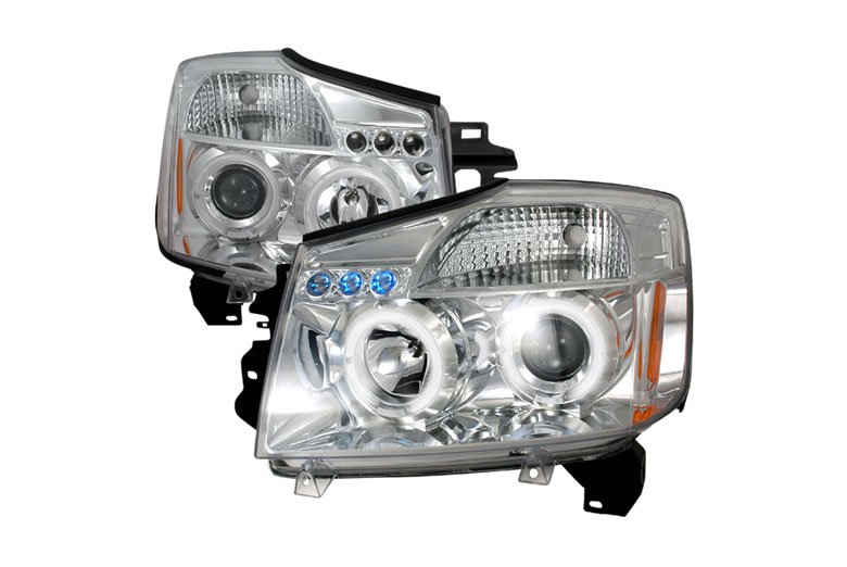 2004 Nissan Armada Aftermarket Headlights