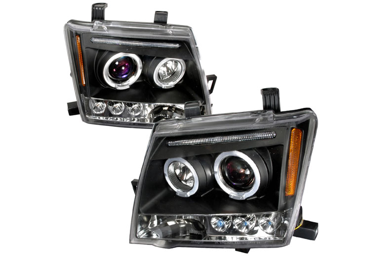 2005 Nissan Xterra Aftermarket Headlights