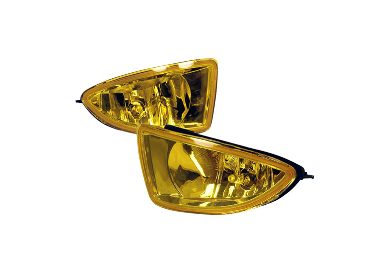 Spec-D Tuning® Honda Civic 2004-2005 Yellow Fog Lights on honda tail lights, honda passport fog light switch, honda crx rear clear lights,
