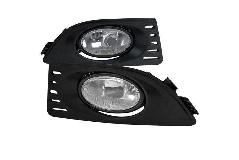 home fog lights custom fog lights acura rsx 2005. Black Bedroom Furniture Sets. Home Design Ideas