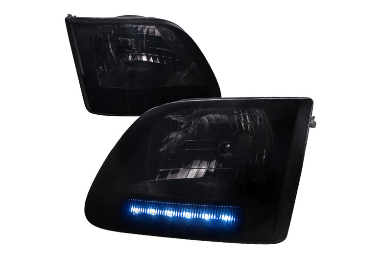 2002 Ford Expedition Aftermarket Headlights