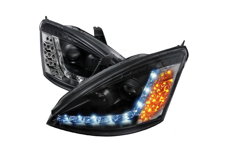 2003 Ford Focus Aftermarket Headlights