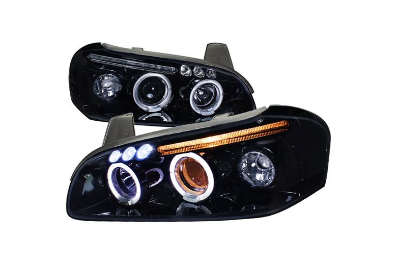 Spec D Tuning Nissan Maxima 2000 2001 Black Projector Headlights