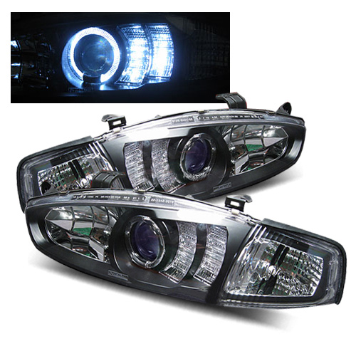2002 Mitsubishi Mirage Aftermarket Headlights