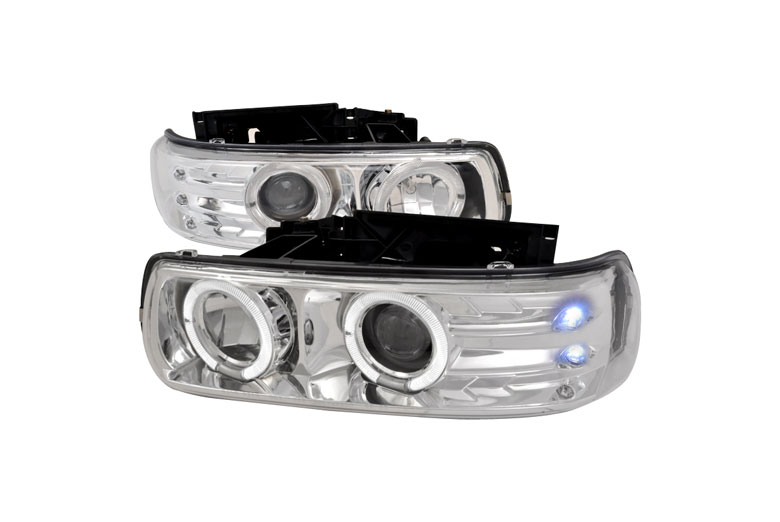2000 Chevrolet Silverado Aftermarket Headlights