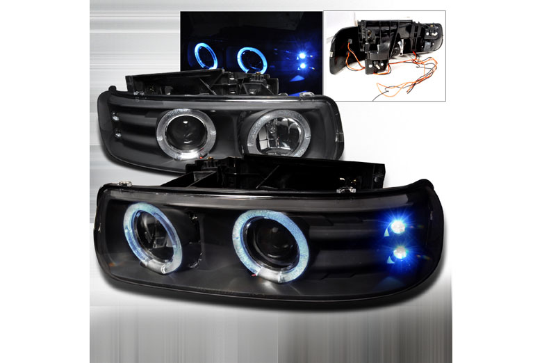 2002 Chevrolet Tahoe Aftermarket Headlights