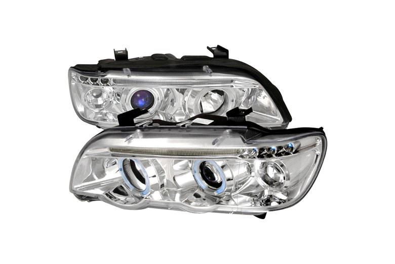 2001 BMW X5 Aftermarket Headlights