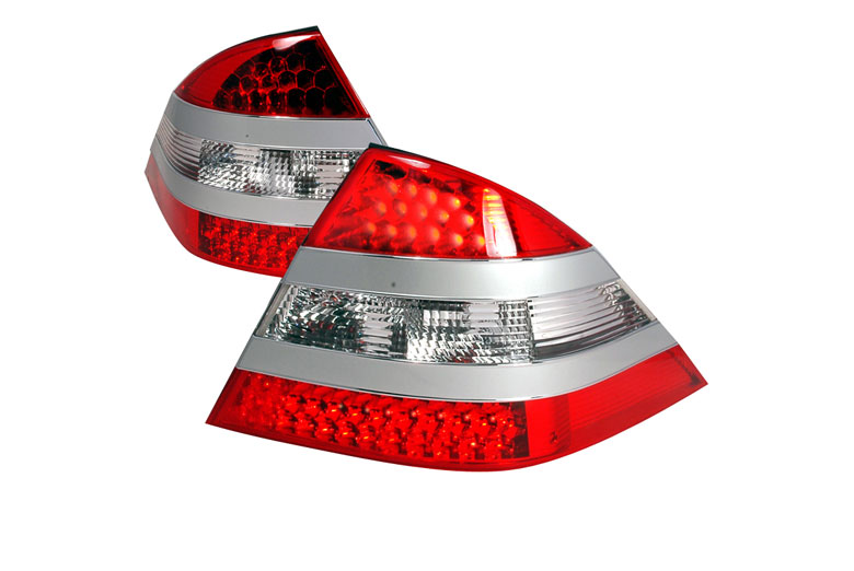 2004 Mercedes S-Class Aftermarket Tail Lights