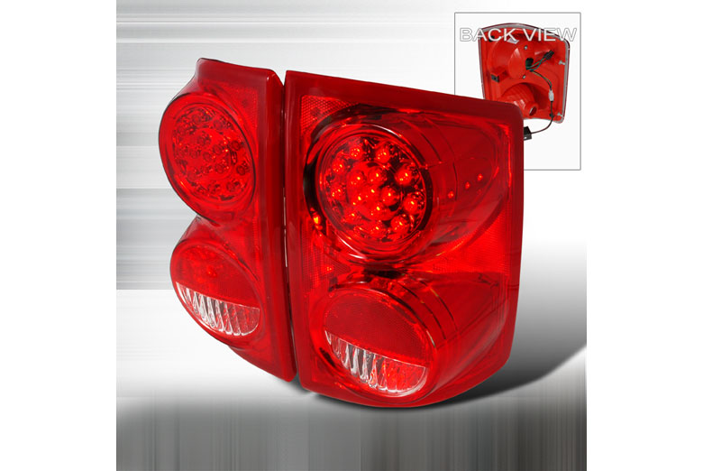 2009 Dodge Dakota Aftermarket Tail Lights