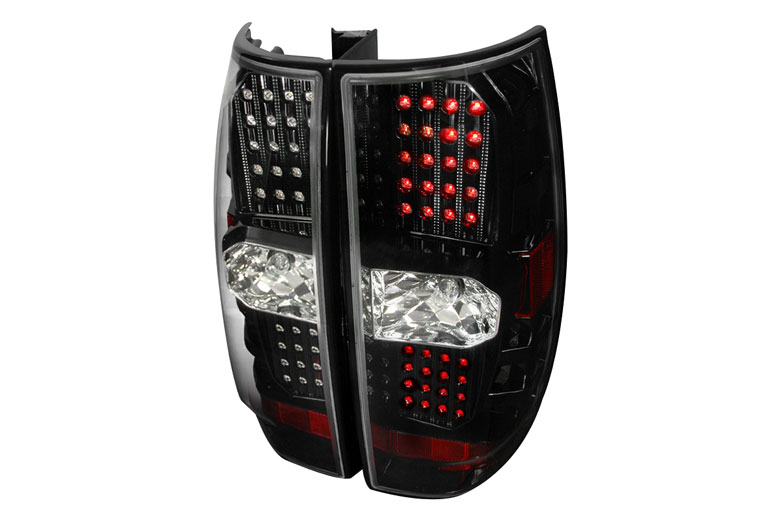 2007 Chevrolet Tahoe Aftermarket Tail Lights