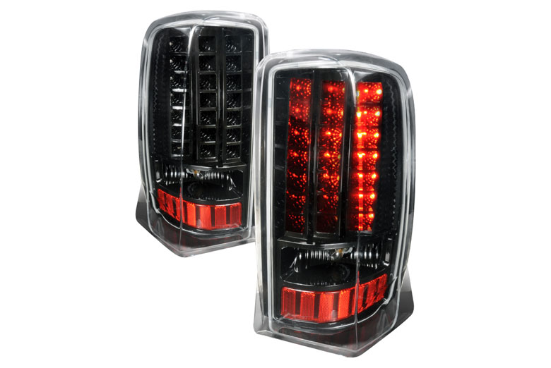 home tail lights custom tail lights cadillac escalade 2002. Black Bedroom Furniture Sets. Home Design Ideas