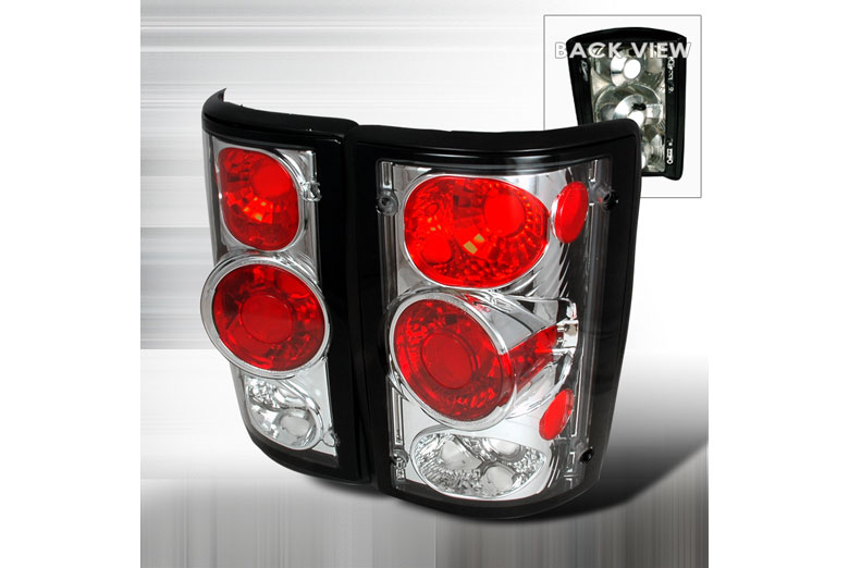 2005 Ford E-350 Aftermarket Tail Lights