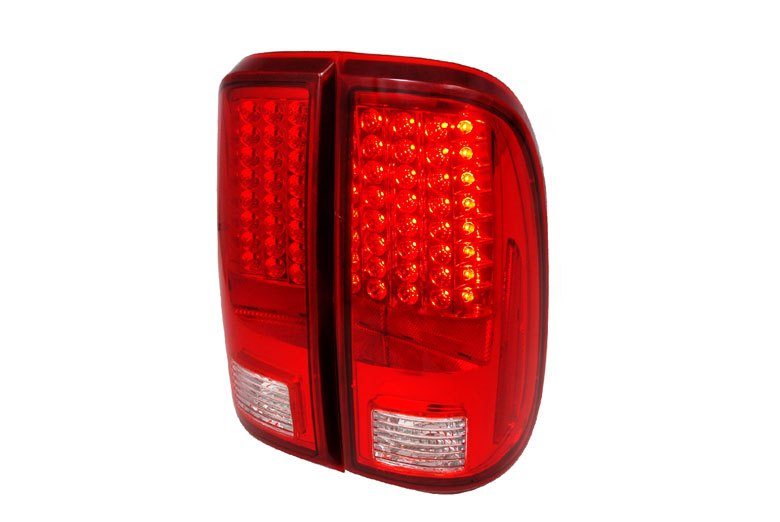 2010 Ford F-450 Aftermarket Tail Lights