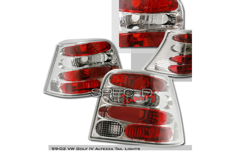 2000 Volkswagen Golf Aftermarket Tail Lights