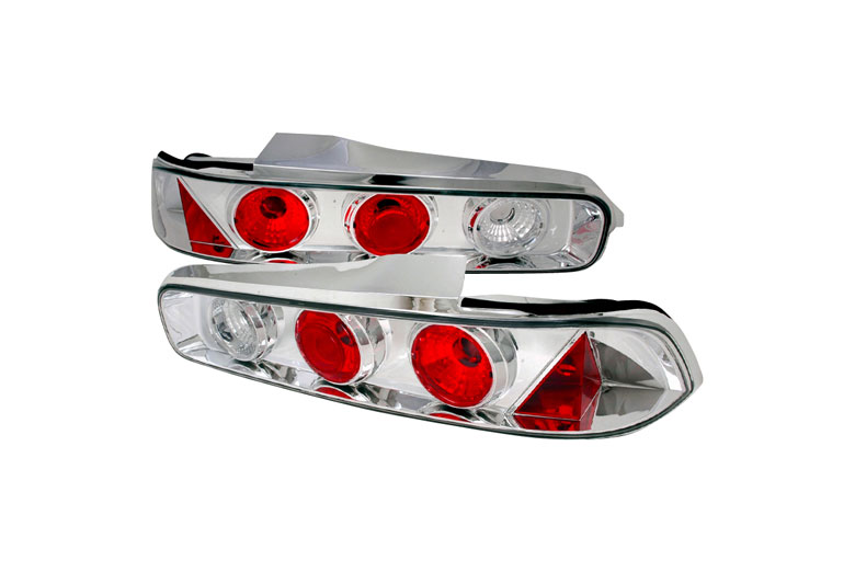 SpecD Tuning Acura Integra Chrome Altezza Tail Lights - 1999 acura integra tail lights