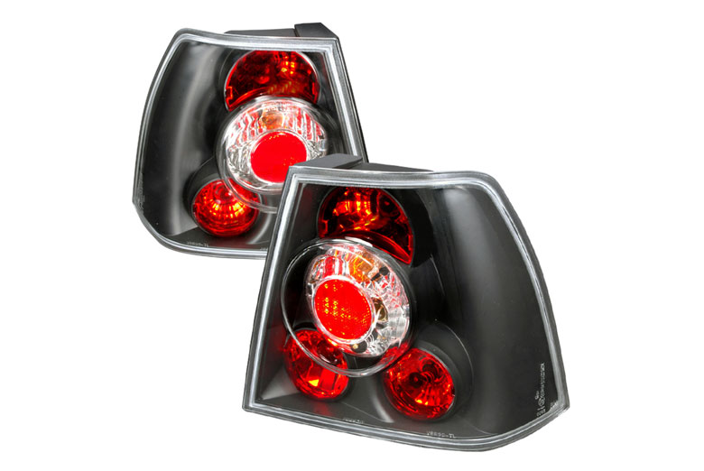 2003 Volkswagen Jetta Aftermarket Tail Lights