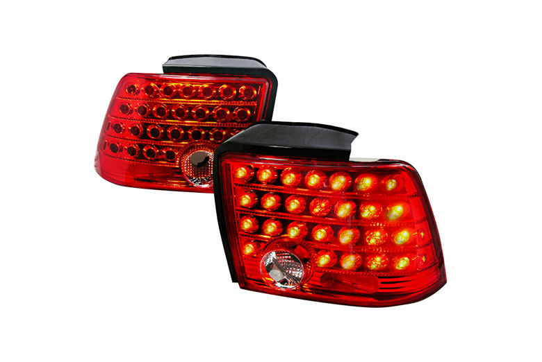 2000 Ford Mustang Aftermarket Tail Lights