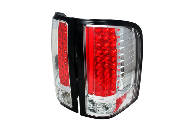 2009 Chevrolet Silverado Aftermarket Tail Lights