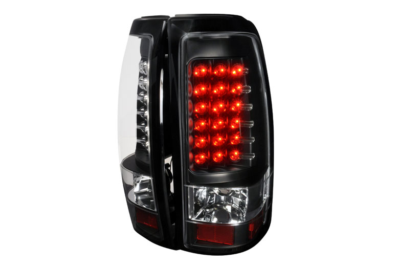 2002 Chevrolet Silverado Aftermarket Tail Lights