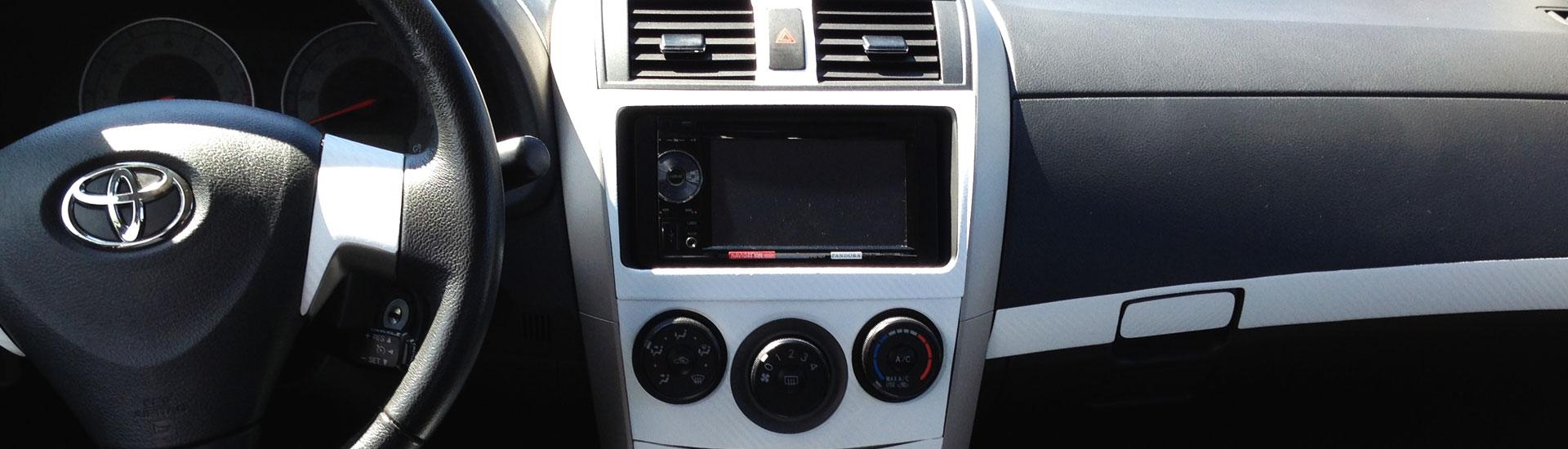 Toyota corolla custom dash kits