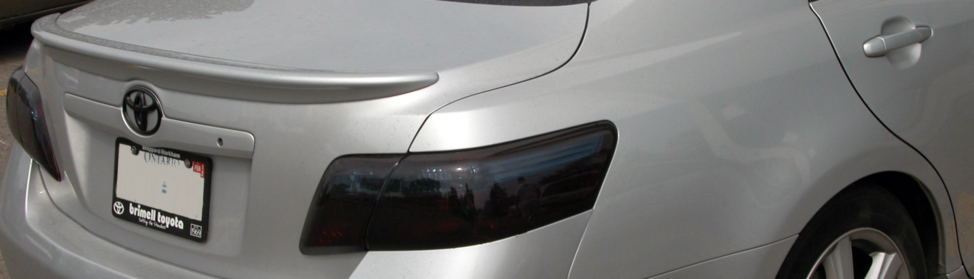 Toyota Tail Light Tint Covers