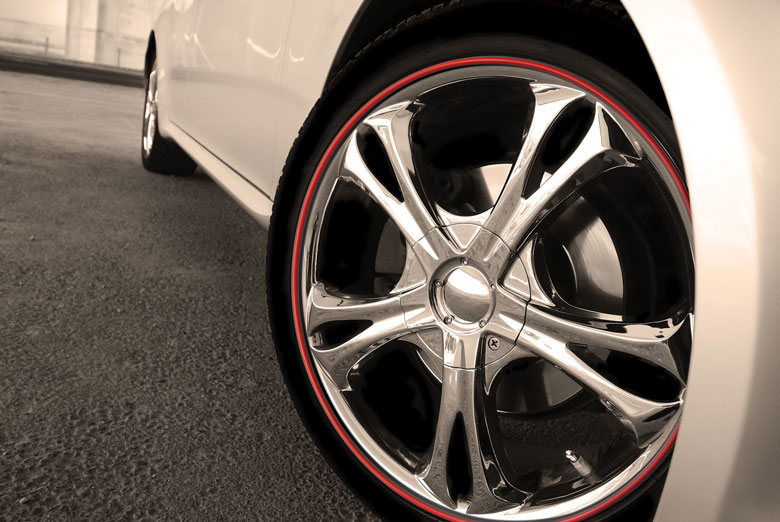 2005 Lincoln LS Wheel Bands Rim Protectors