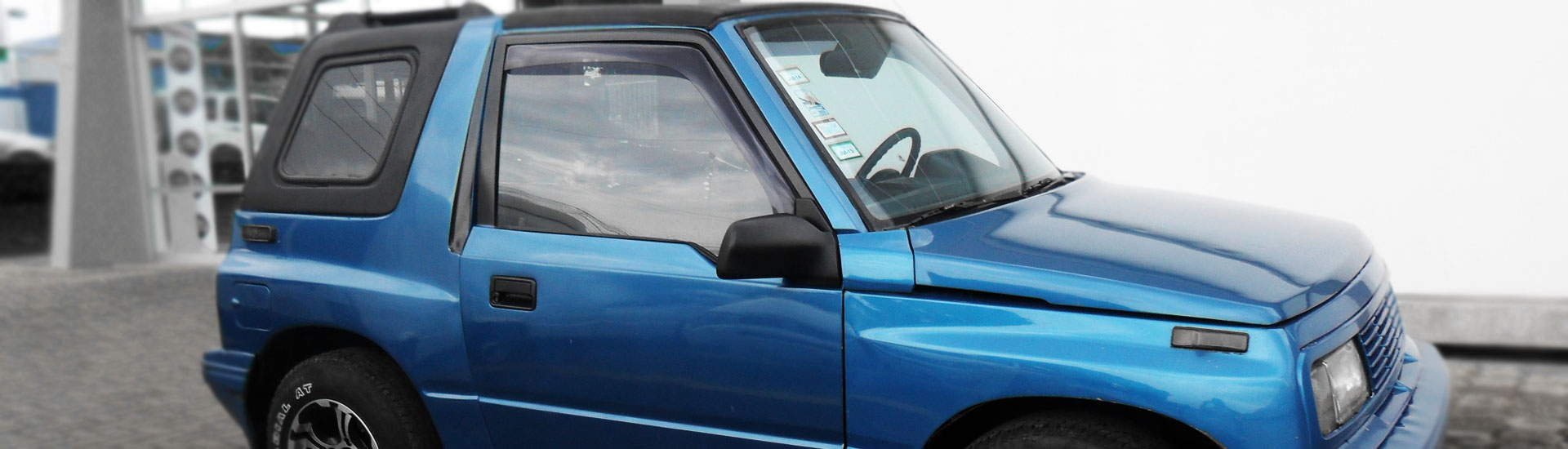 1993 Geo Tracker Window Tint