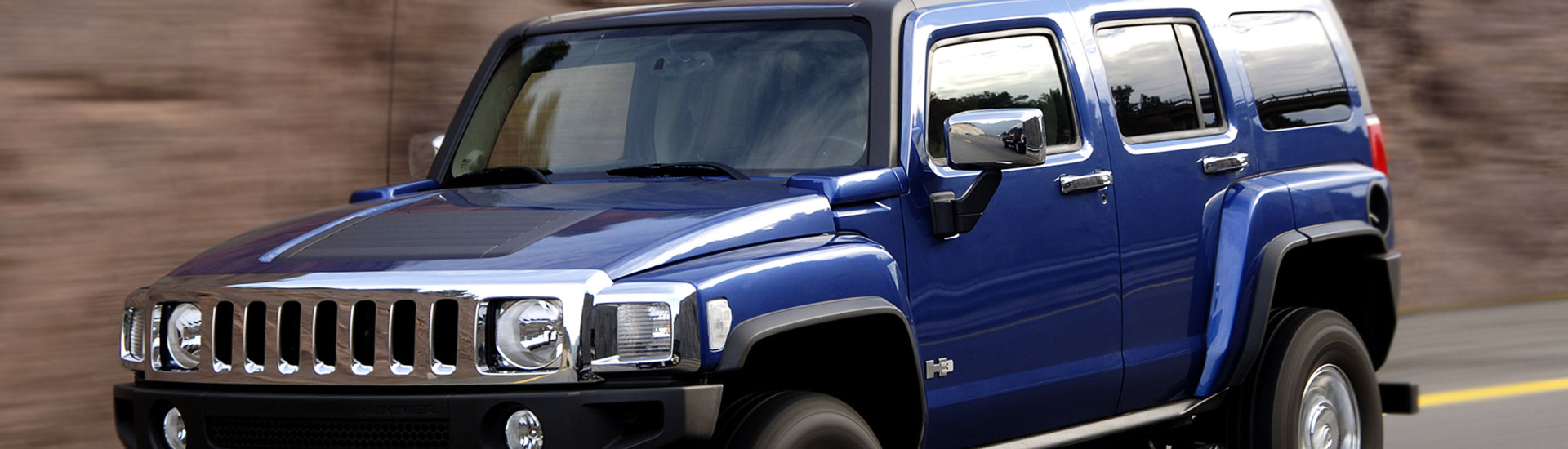 Hummer H3 Window Tint