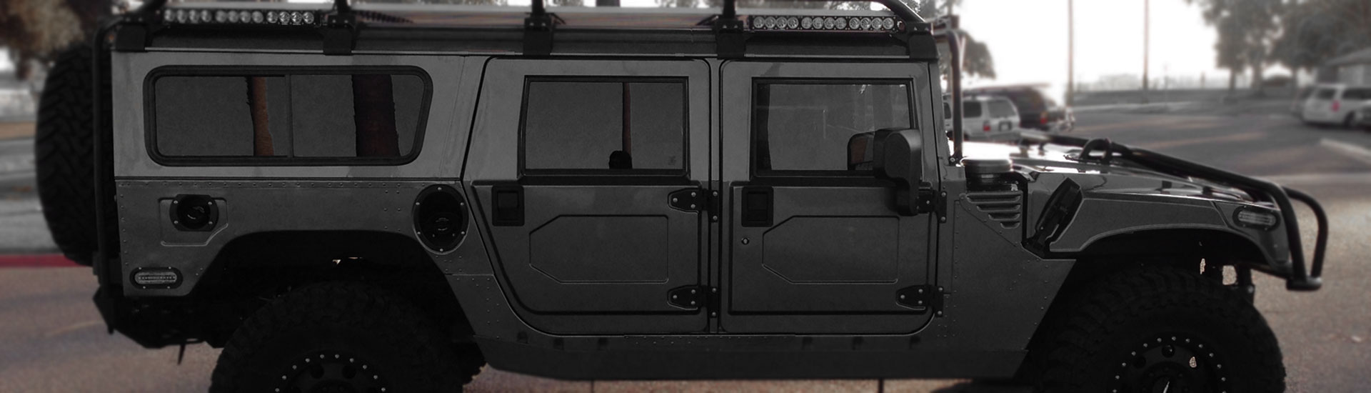 2000 Hummer H1 Window Tint