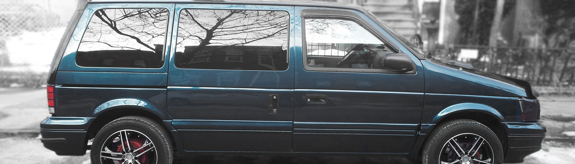 Plymouth Voyager Window Tint