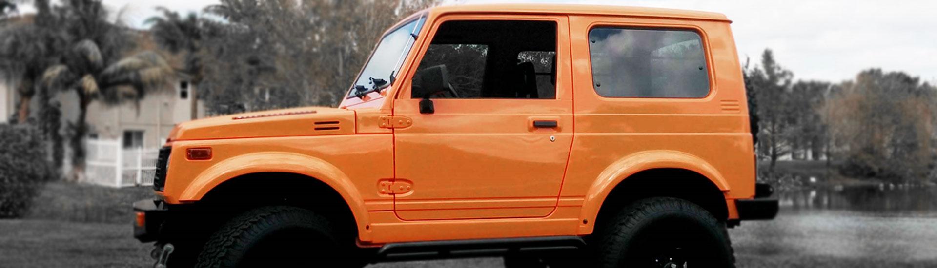 Suzuki Samurai Window Tint Kit Diy Precut Suzuki Samurai Window Tint