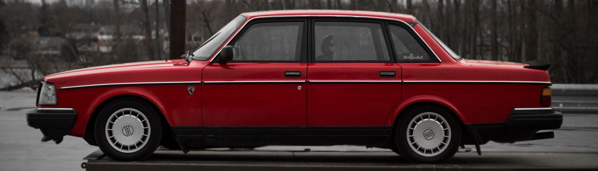 Volvo 240 Window Tint
