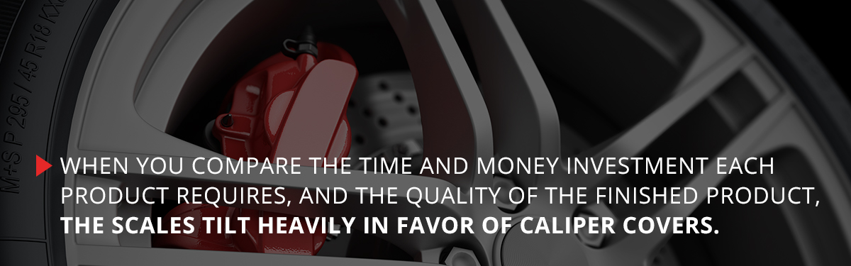 why caliper covers