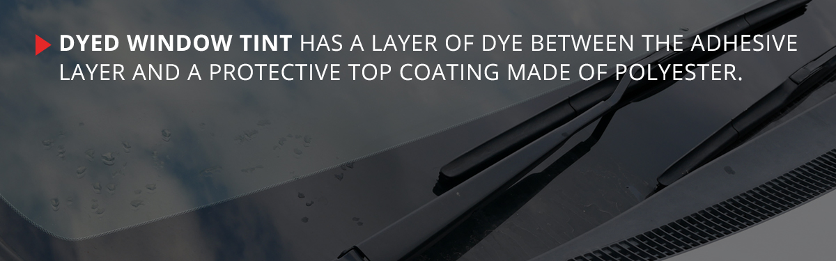 Types Of Window Tint Dyed Metalized Hybrid Carbon