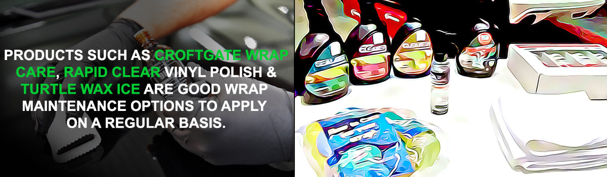 Vinyl Wrap Aftercare Products Wrap Protection Products