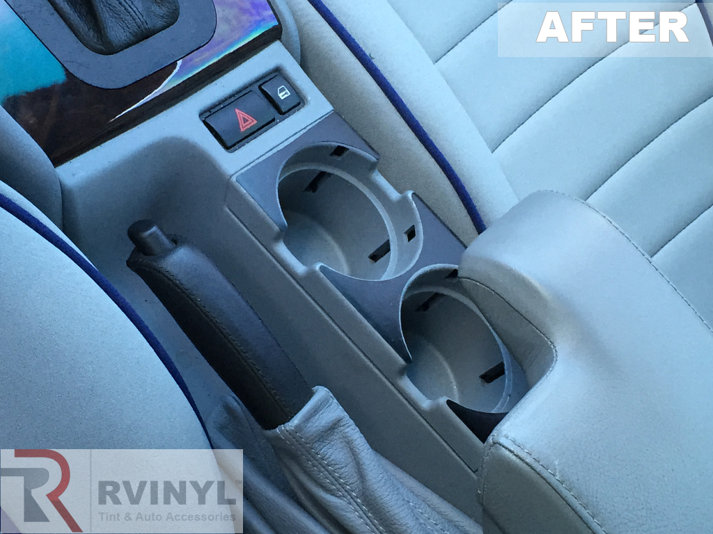 makeover the interior of a 2003 bmw 330c for under 50