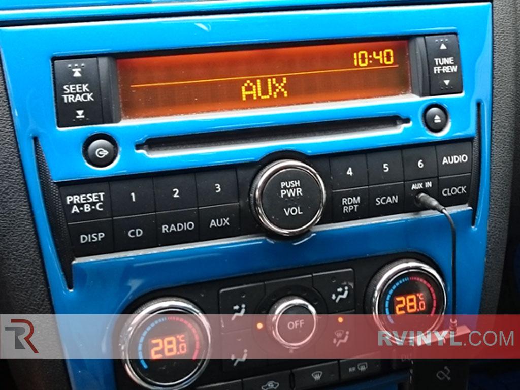 Gloss Blue Dash Kit - 2008 Nissan Altima Coupe