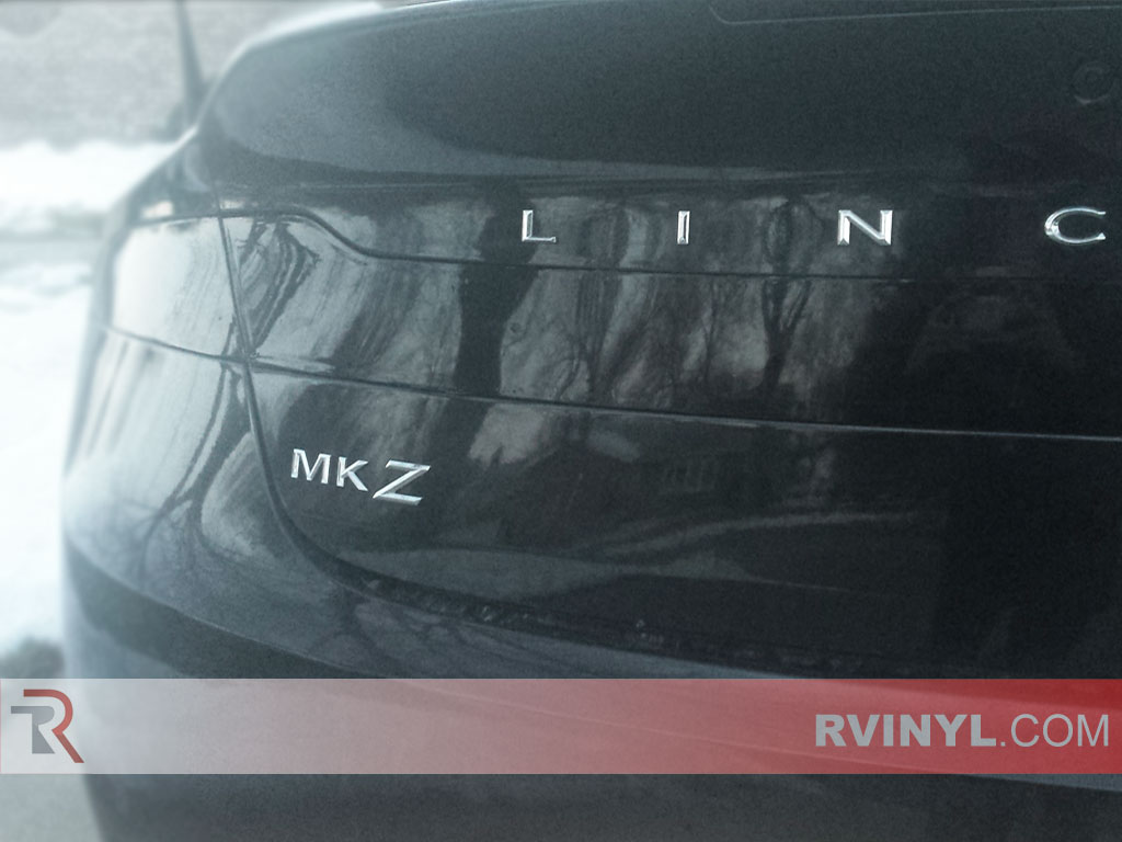 Lincoln MKZ Blacked Out Taillights