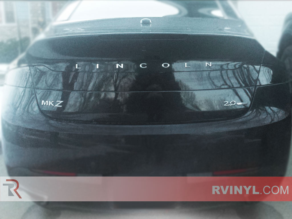 Customer Rebate Photo of Blackout Taillight Tint on 2013 Lincoln MKZ
