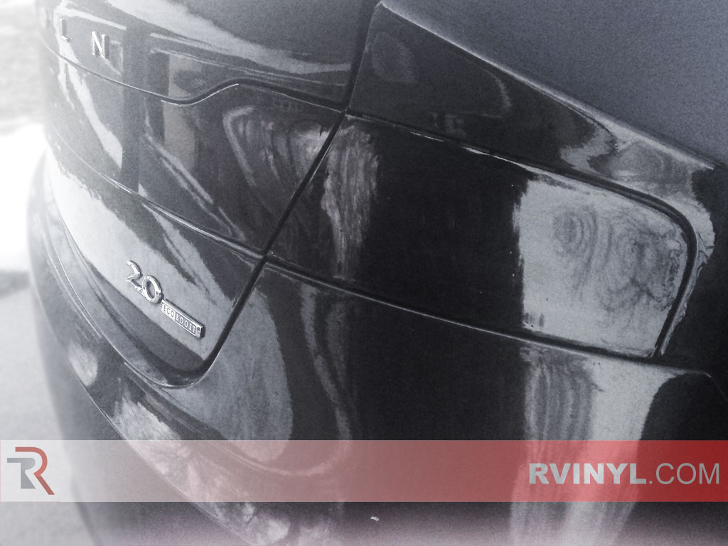 Closeup of Lincoln MKZ Taillight Tints