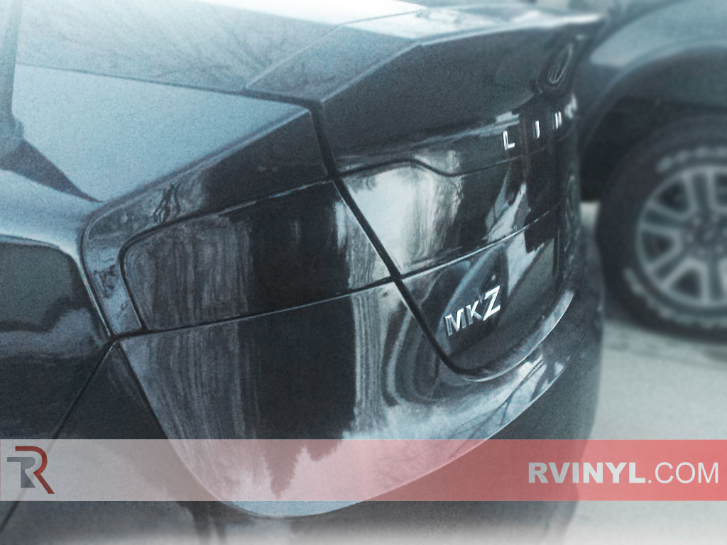 Driver Side Blacked Out Taillight Tint - Lincoln MKZ