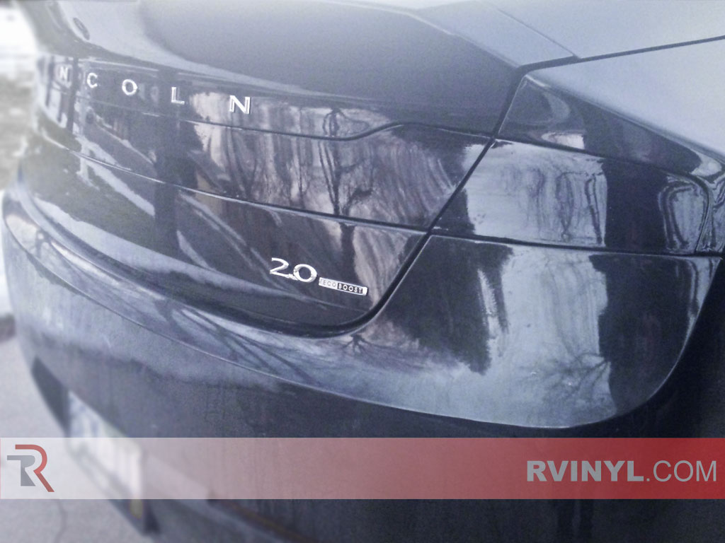 2013 MKZ Taillight Covers - Black Out